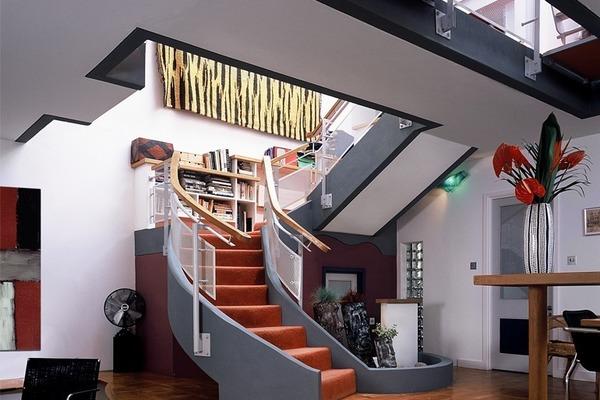 Ground floor staircase