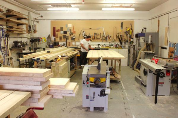 Goldfinger Factory Workshop