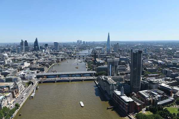 South Bank Tower features far-reaching views across the capital
