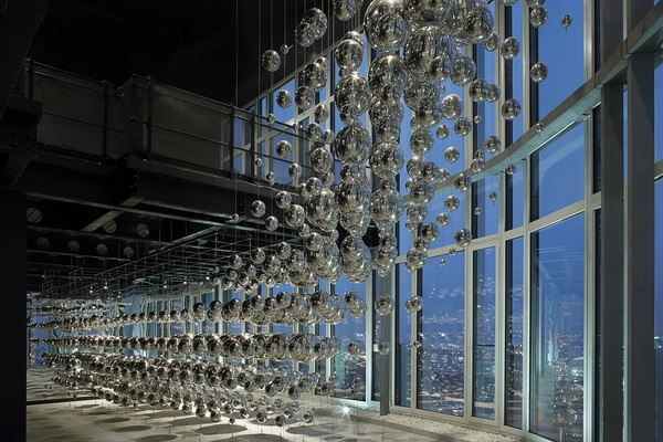 39th floor viewing gallery with views across London's skyline