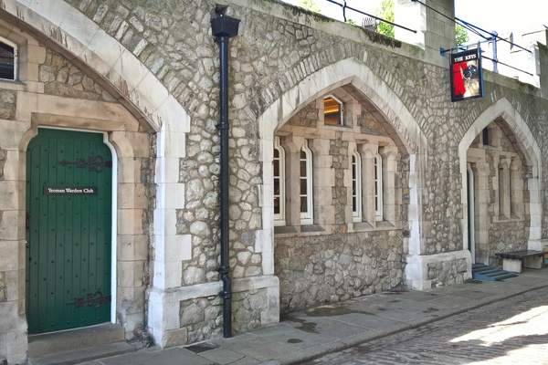 Outside view of Yeoman Warders Club