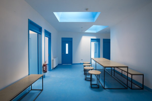 Blue House interior