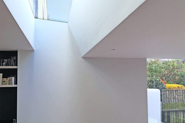 Rooflight captures changing light