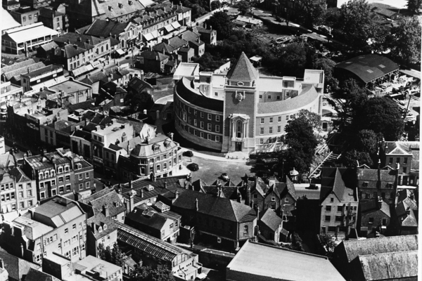 Guildhall from the air