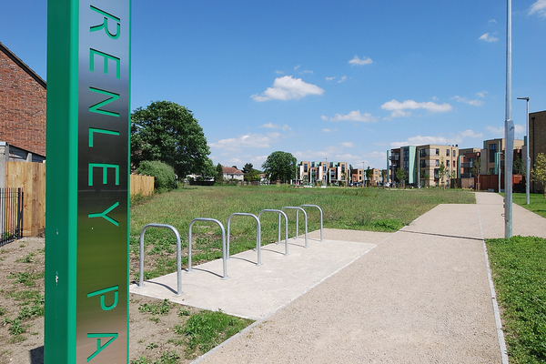 Brenley Park entrance