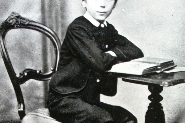 Herbert George Wells at Morley's Academy aged 11yrs