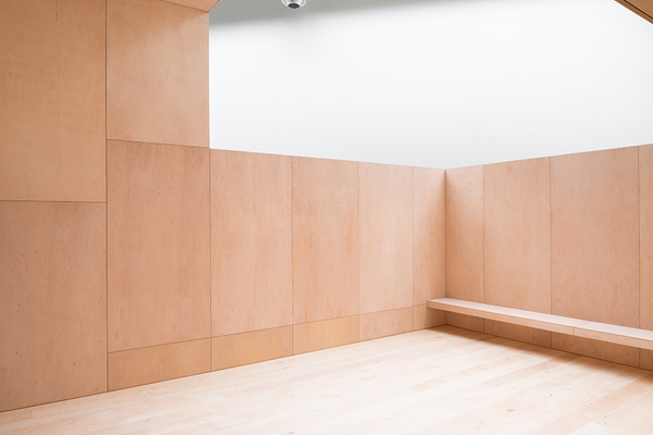 The Workshop Space is an internal terrace for meeting