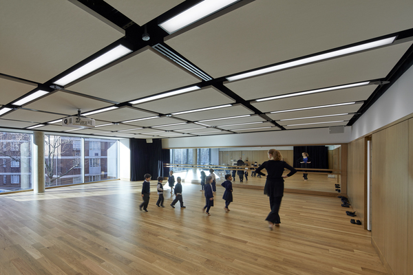 View showing Dance Studio