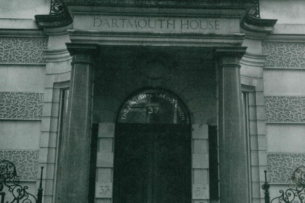 Doric Porch at the front of Dartmouth House