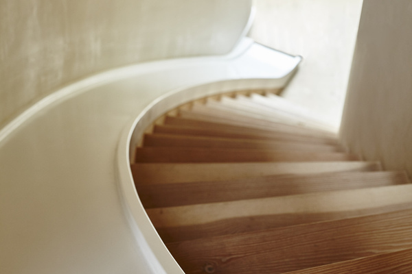 Playful slide and stair