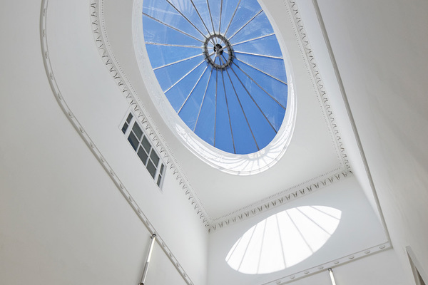 44 Bedford Square's glass roof