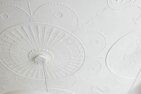 A detail from the ceiling