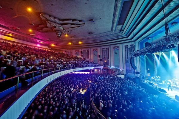 New Order playing at Troxy