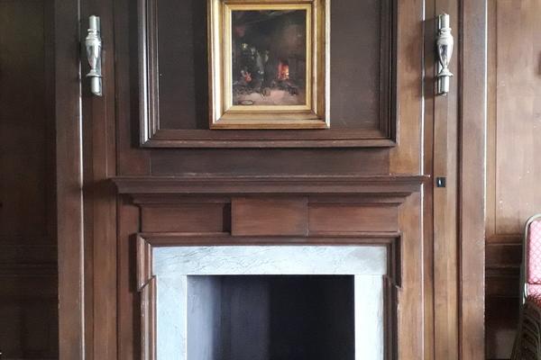 Shrewsbury House, ornamental fireplace