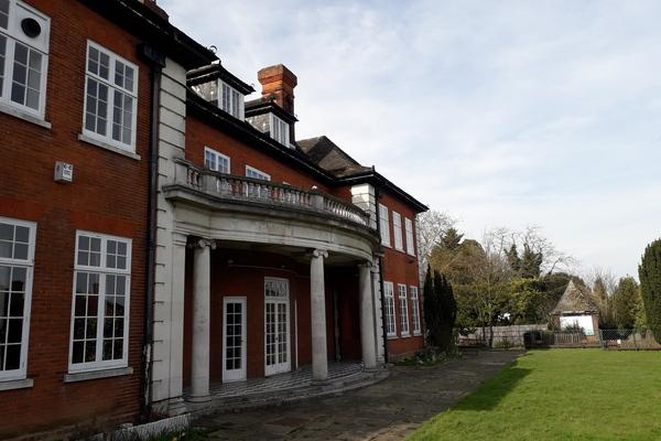 Shrewsbury House, east elevation.