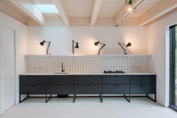 Elevation of kitchen