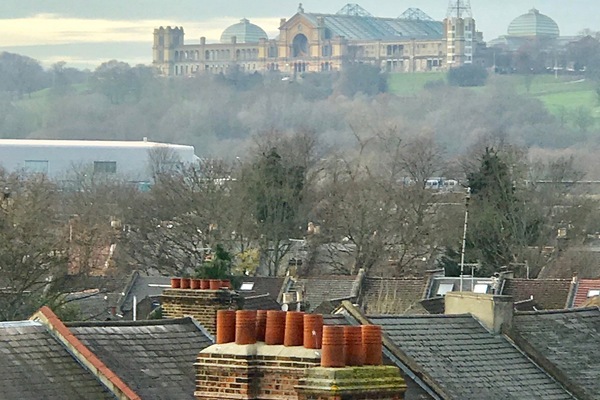 View looking towards Alexandra Palace
