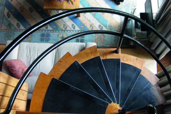 Spiral Stair from Gallery