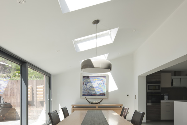 Lateral Internal View of Dining Space