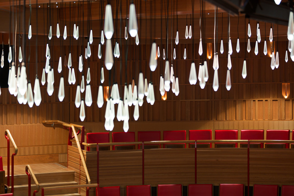 Susie Sainsbury Theatre - Crystal Chandelier