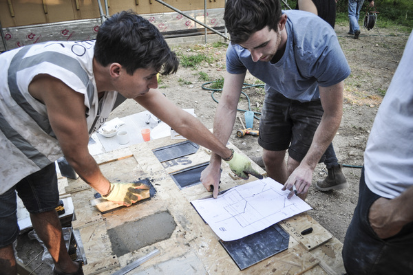 Making the tiles