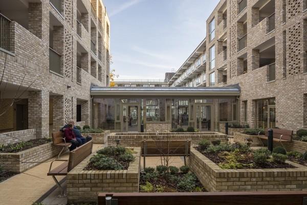 View of internal courtyard