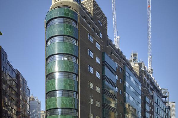 Refurbished building