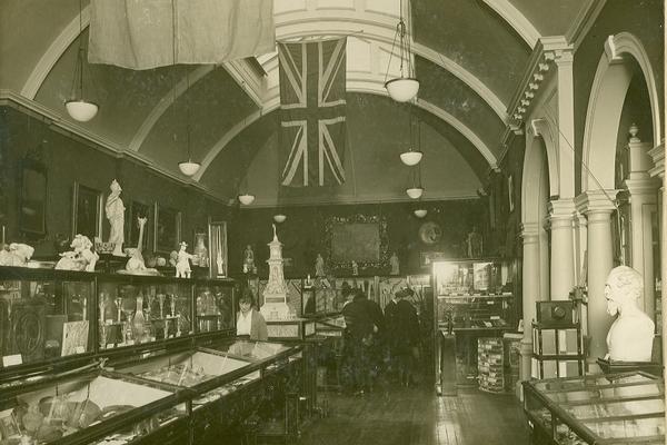 Cuming Museum interior