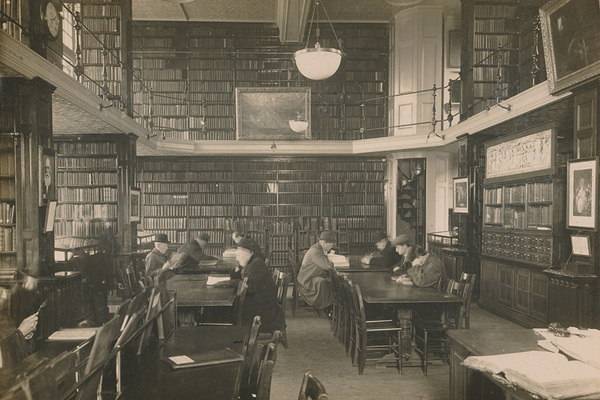 Refernence Library interior