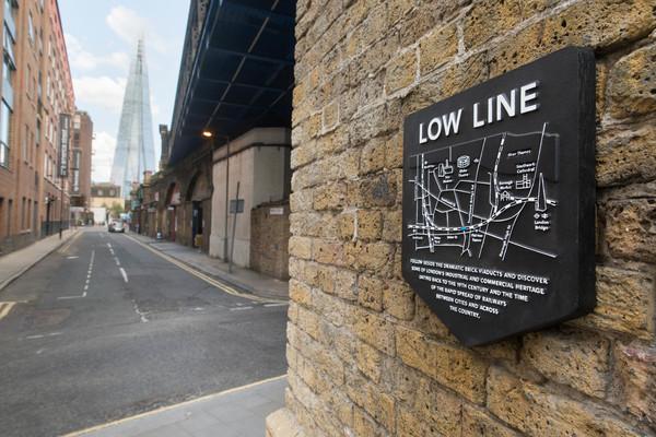 Low Line waymarkers