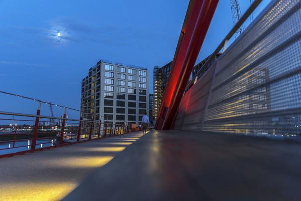 Upon the Red Bridge