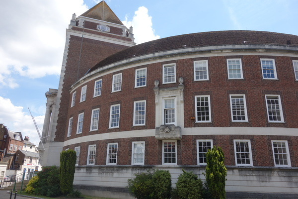 The Guildhall, built in 1935