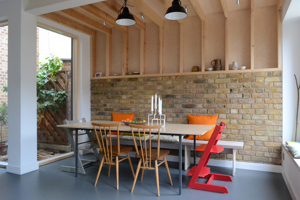 New dining room extension