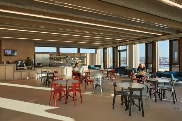Top floor cafe - Town House, Kingston University