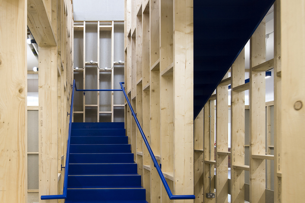 Enterprise Hall Stairs