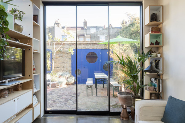 View towards Garden Studio