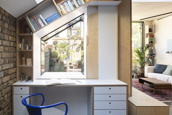 Studio and Living Room