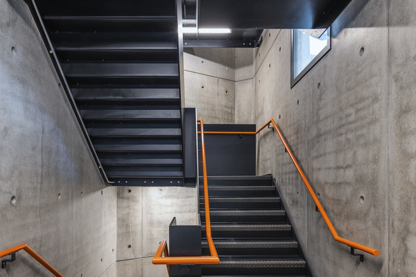 Brunel Building staircase