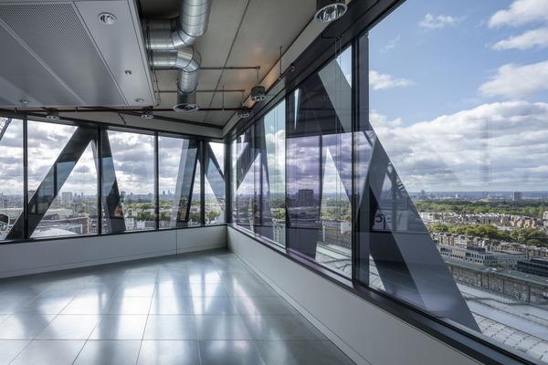 Brunel Building office floor
