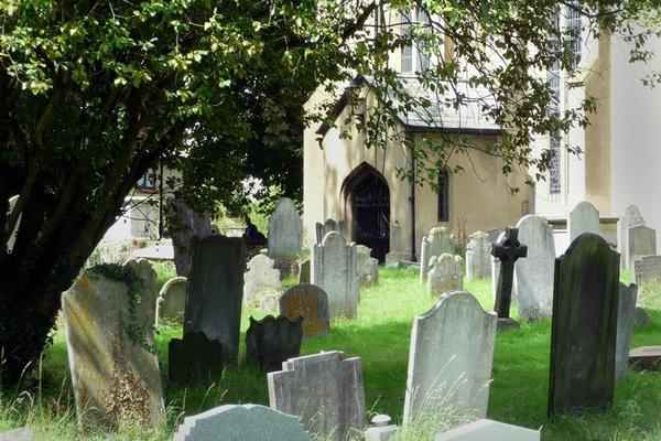 South Door from Churchyard