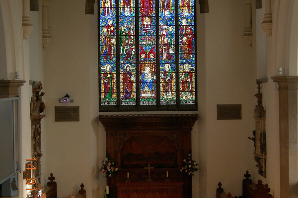 The East Window and Chancel