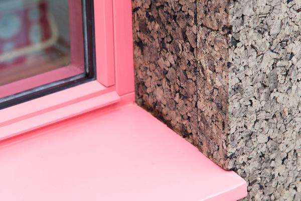 Window frame detail