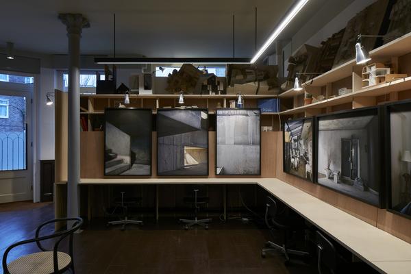 Studio as gallery
