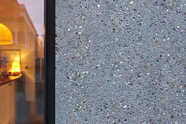 Pre-cast concrete panel detail