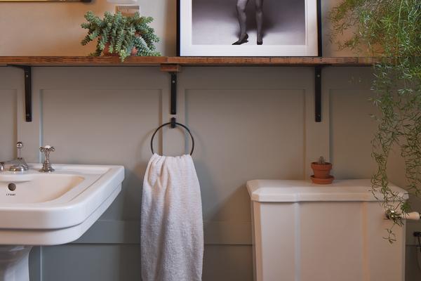 Bathroom view: sink