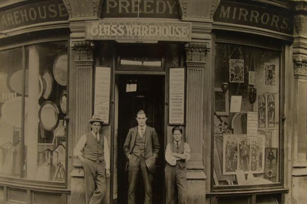 Preedy Glass History