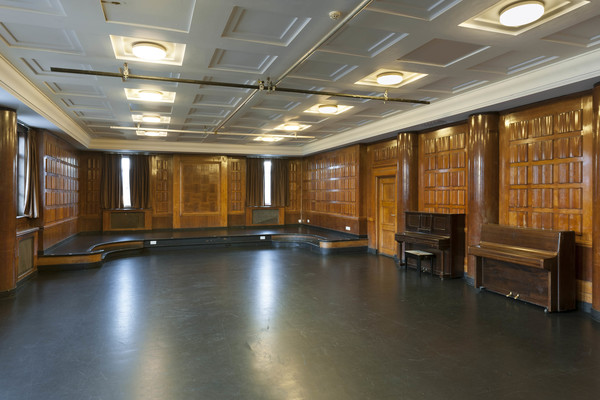 The Court Room, a former juvenile court at Toynbee Studios