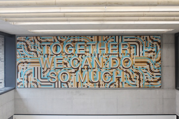 Together We Can Do So Much - Mark Titchner