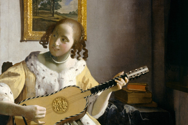 Vermeer's 'The Guitar Player', 1672