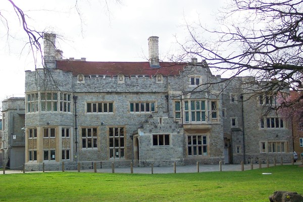 front of Kingswood house